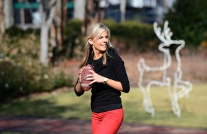 Samantha Steele - College GameDay - December 1, 2012