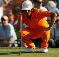 Golfer Ricky Fowler (Credit: Getty Images)
