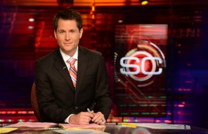 SportsCenter anchor Matthew Barrie (Joe Faraoni/ESPN Images)