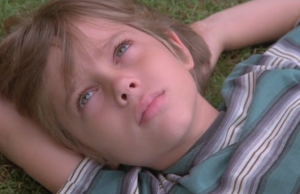Actor Ellar Coltrane portrays Mason Evans Jr. in Boyhood.