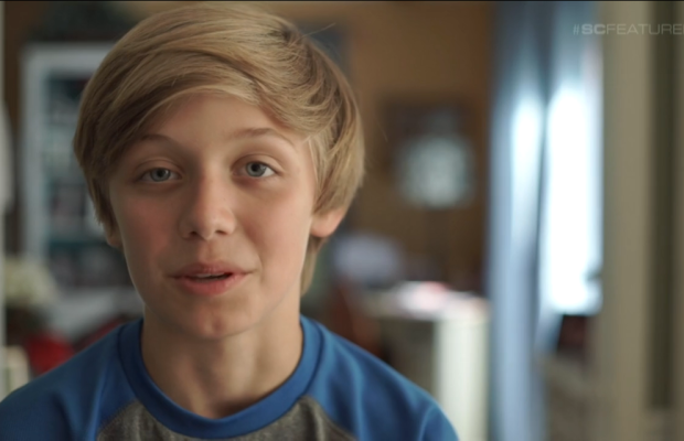 Braeden Lange, a 12-year-old lacrosse player who was bullied after coming out as gay but found solace in an ESPN feature.